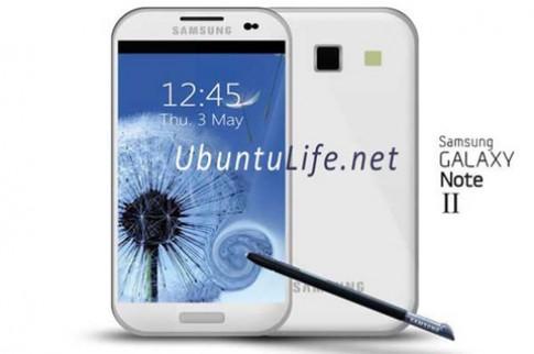 Galaxy Note 2 có thể dùng màn hình dẻo