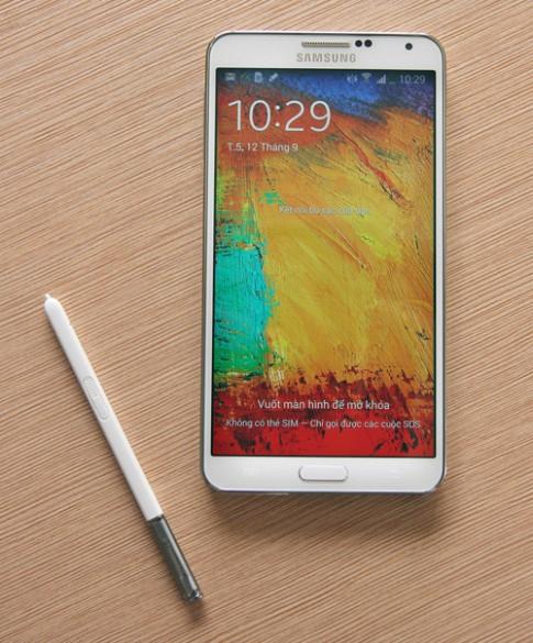 Galaxy Note 3 về Việt Nam với giá 16,9 triệu đồng