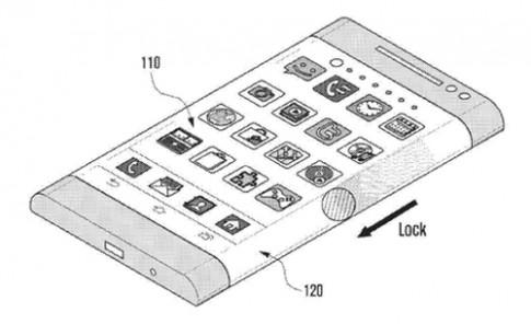 Galaxy Note 4 có thể dùng màn hình hiển thị ba mặt