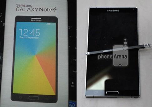Galaxy Note 4 có thể dùng RAM 4 GB, camera 16 megapixel