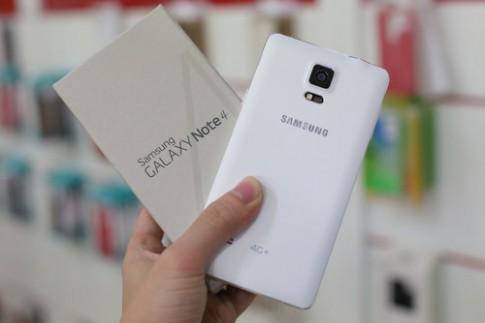Galaxy Note 4 có thêm bản 4G, dùng chip Qualcomm