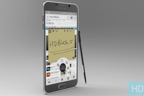 Galaxy Note 5 sẽ không có khe thẻ nhớ ngoài