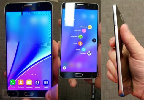 Galaxy Note 5 tiếp tục lộ ảnh thực tế