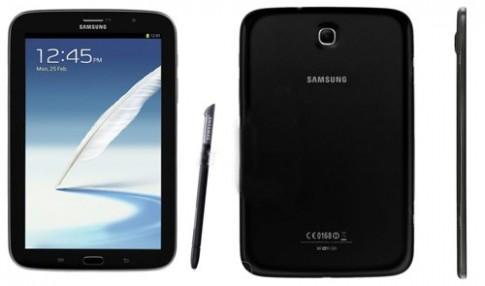 Galaxy Note 8.0 có phiên bản màu đen