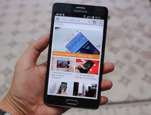 Galaxy Note Edge về Việt Nam giá 21 triệu đồng
