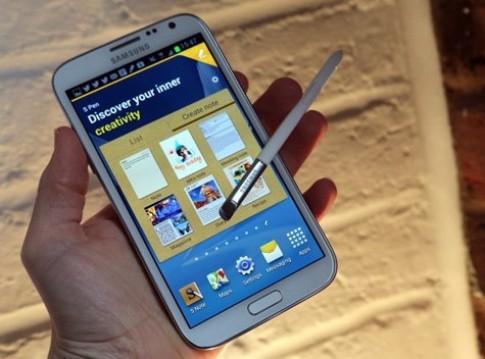 Galaxy Note II có thể được làm mới với cấu hình của S4