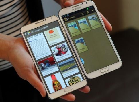 Galaxy Note II được cập nhật phần mềm giống Note 3, S4