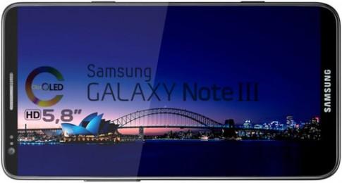 Galaxy Note III có camera 13 'chấm' với ống kính chống rung OIS