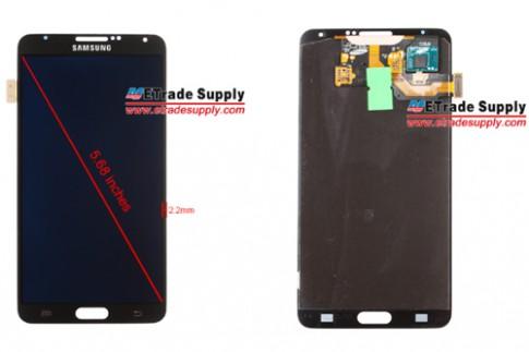 Galaxy Note III lộ ảnh mặt trước, có thể quay video 4K