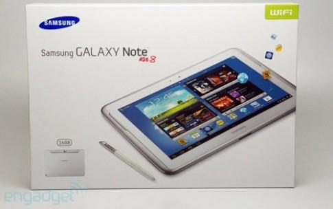 Galaxy Note màn hình 8 inch sẽ xuất hiện tại MWC 2013