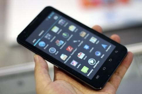Galaxy Note 'nhái' tại triển lãm VCW 2012