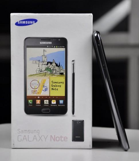 Galaxy Note 'xách tay' giá hơn 18 triệu