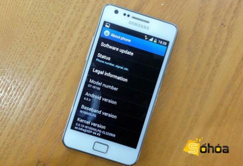 Galaxy S II bắt đầu bán ra với Android 4.0 cài đặt sẵn