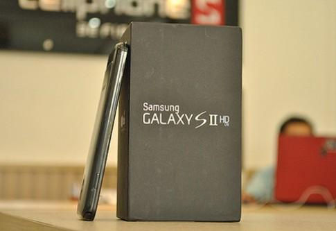 Galaxy S II phiên bản HD về VN