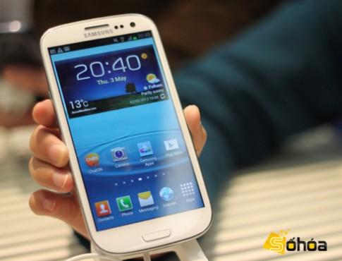 Galaxy S III có điểm đồ họa 'khủng'