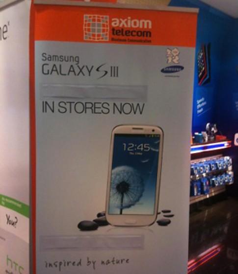 Galaxy S III đã bán tại Dubai, giá 680 USD