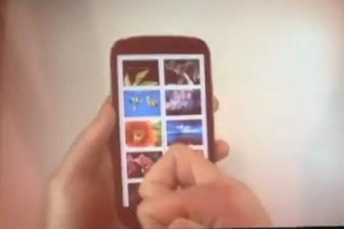Galaxy S III 'độ' biết phân biệt ngón tay