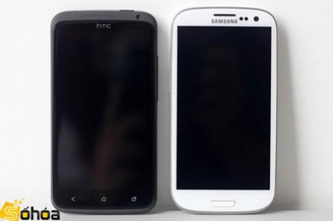 Galaxy S III đọ dáng cùng One X ở VN