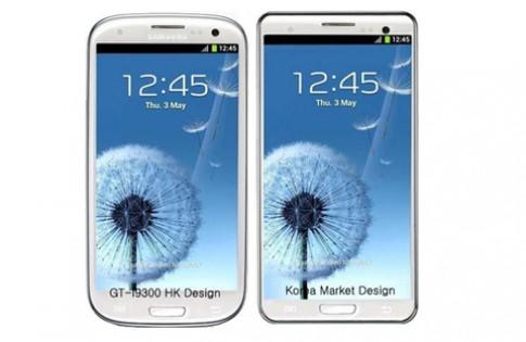 Galaxy S III Hàn Quốc dáng vuông