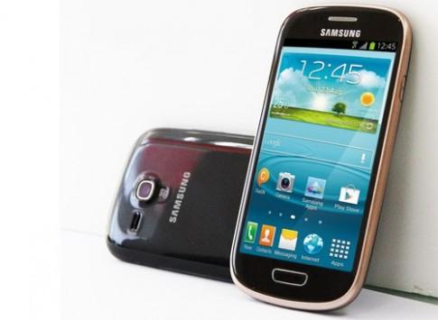 Galaxy S III Mini thêm màu đen và nâu tại VN