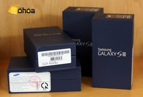 Galaxy S III xanh bắt đầu bán ở Hà Nội