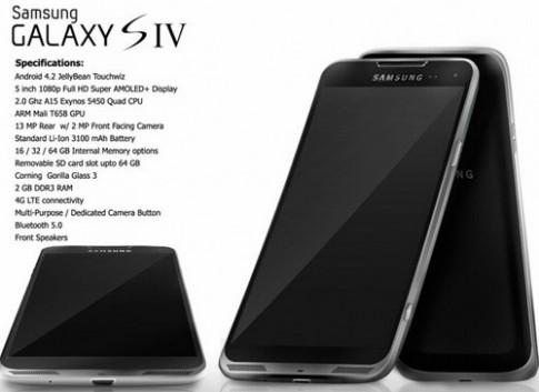 Galaxy S IV hỗ trợ thao tác màn hình không cần chạm