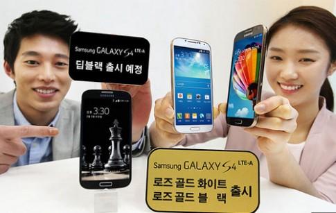 Galaxy S4 được làm mới với mặt lưng vân da