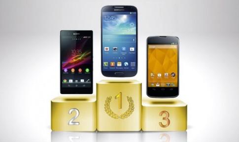 Galaxy S4 là smartphone có pin lâu nhất