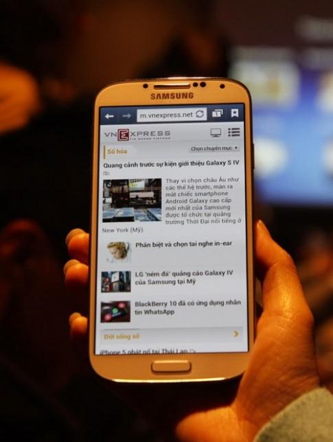 Galaxy S4 sẽ bán ở VN đầu tháng 5