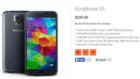 Galaxy S5 chưa được bán, hàng nhái đã xuất hiện