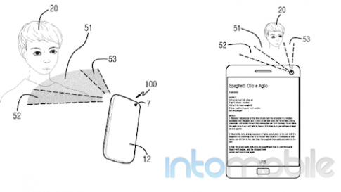 Galaxy S5 có thể dùng đầu để điều khiển