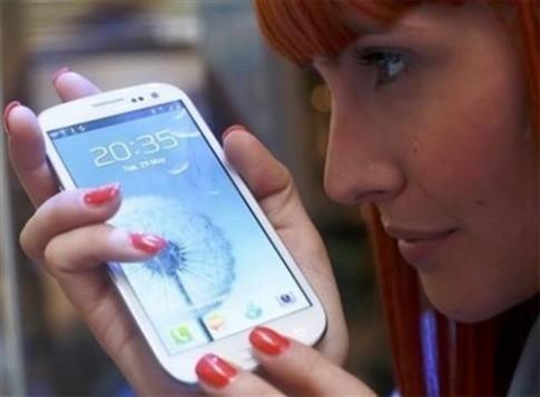 Galaxy S5 có thể quét võng mạc để mở khóa