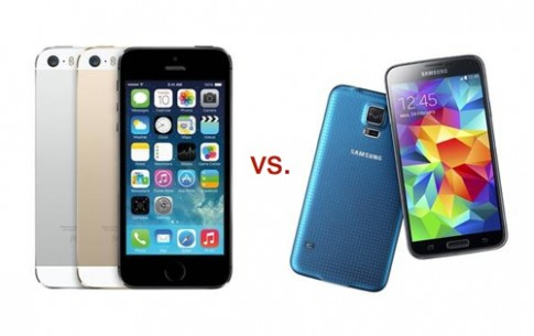 Galaxy S5 đọ cấu hình với các smartphone đình đám