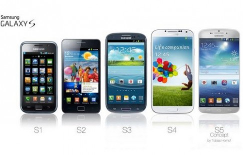 Galaxy S5 sẽ có màn hình tích hợp nhận diện vân tay