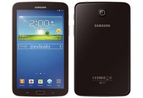Galaxy Tab 3 7.0 bản đặc biệt màu nâu vàng xuất hiện