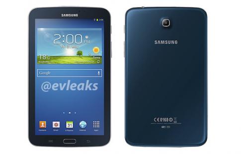 Galaxy Tab 3 7.0 có thêm màu xanh