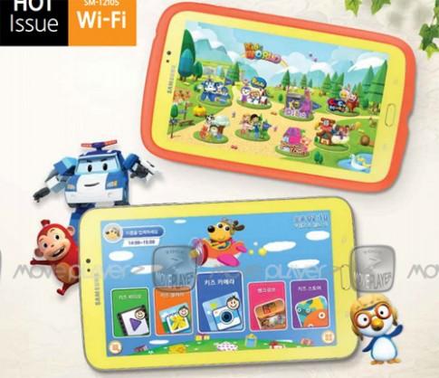 Galaxy Tab 3 7.0 thêm phiên bản dành cho trẻ em