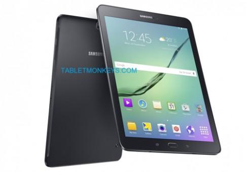 Galaxy Tab S2 lộ ảnh chi tiết cùng phần cứng mạnh