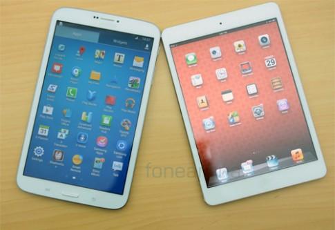 Galaxy Tab vượt iPad về mức độ hài lòng