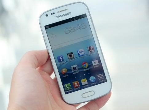 Galaxy Trend - smartphone phổ thông kiểu dáng giống Note