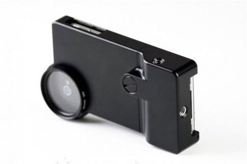 Gắn ống kính rời Canon, Nikon vào iPhone