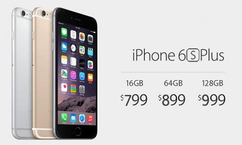 Giá bán dự kiến iPhone 6S và 6S Plus