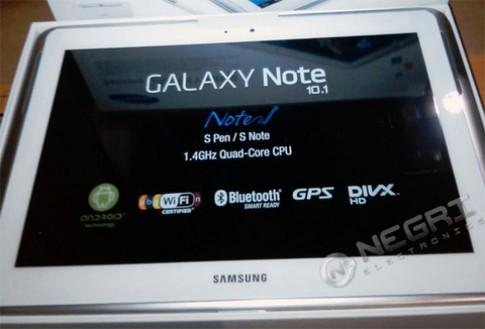 Giá đặt mua Note 10.1 chip lõi tứ tại Mỹ là 749,5 USD