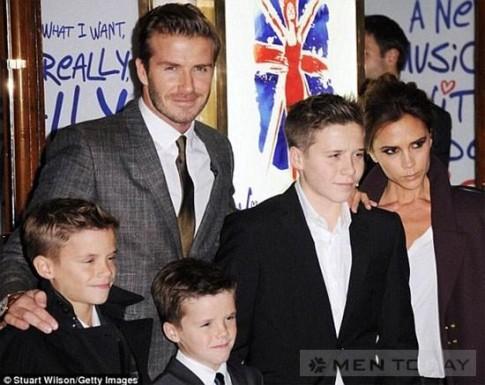 Gia đình Becks sành điệu nhất thế giới