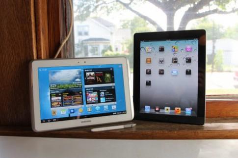 Giá linh kiện Galaxy Note 10.1 rẻ hơn iPad 2012