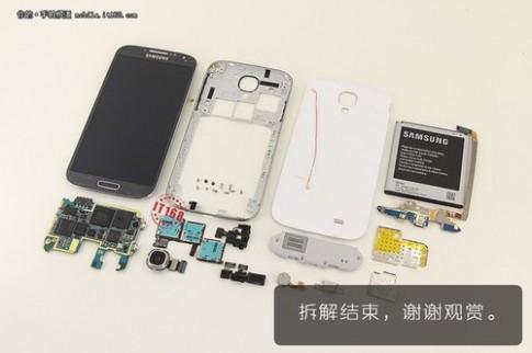 Giá linh kiện Galaxy S4 chưa tới 5 triệu đồng