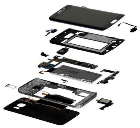 Giá linh kiện sản xuất Galaxy S6 Edge thuộc hàng đắt nhất