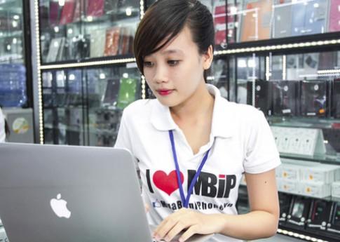 Giá Macbook và iPad có xu hướng giảm