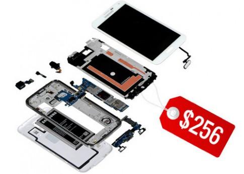 Giá thành sản xuất Galaxy S5 hơn 5 triệu đồng