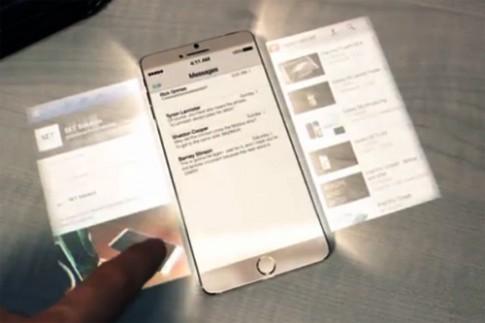 Giấc mơ iPhone 6 màn hình nổi như trong phim viễn tưởng